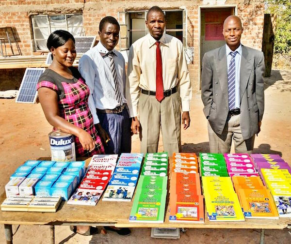 Bumi Hills Foundation Donates Textbooks and Teaching Aides to Local Rural African Primary School