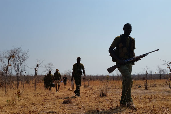 Ranger Induction Training at Bumi Hills Foundation in Zimbabwe for Anti-Poaching