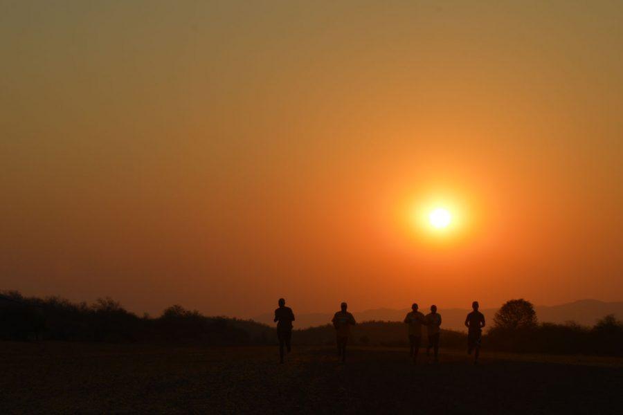 Ranger Induction Training Sunset Workout Bumi Hills Foundation