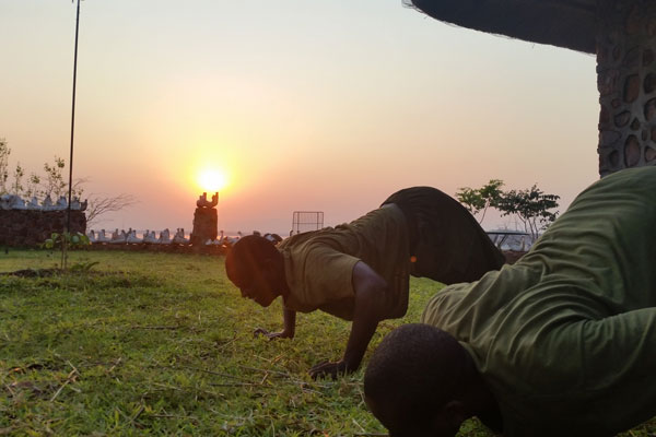 Anti-Poaching Ranger Induction Training at Bumi Hills Foundation in Zimbabwe