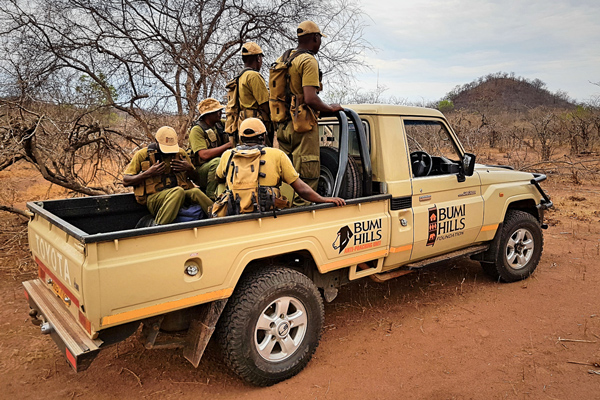 New Toyota Landcruiser for Anti Poaching Team