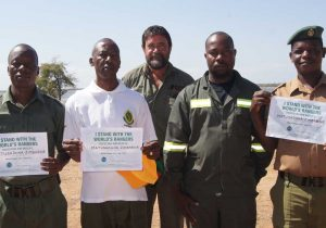 Senior Management - Matusadona National Park Zimbabwe - with BHAPU's own Mark Brightman
